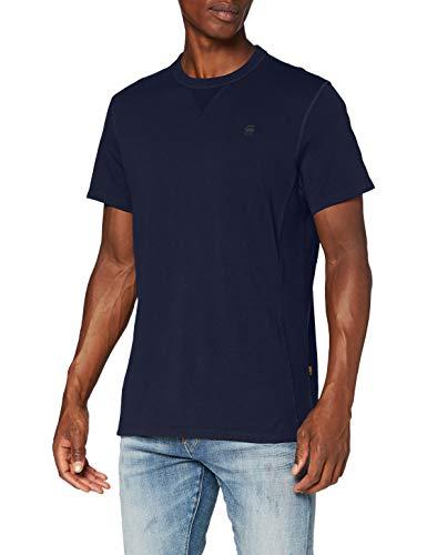 G-STAR RAW Herren T-Shirt Premium Core, Sartho Blue C336-6067, Medium