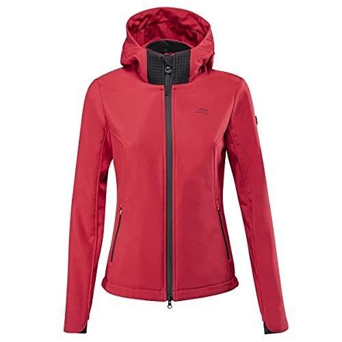 Equiline Ladies Softshell Jacket Red/X Small
