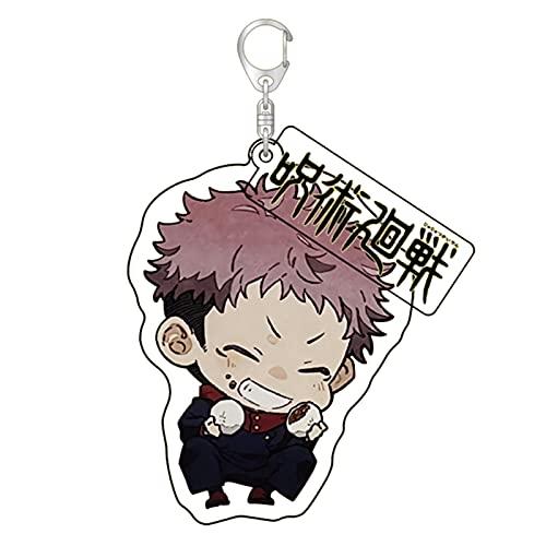 cluis Llavero Anime Jujutsu Kaisen con figura de anime, acrílico, regalo para fans del anime (Style 29)