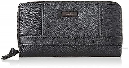Tom Tailor Acc TOM TAILOR bags JUNA Damen Geldbörse one size, black, 20x2,5x10,5