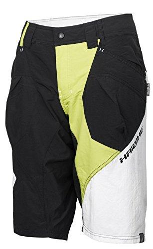 HAIBIKE Pantaloncini di MTB per Donna, Unisex, Nero, XS