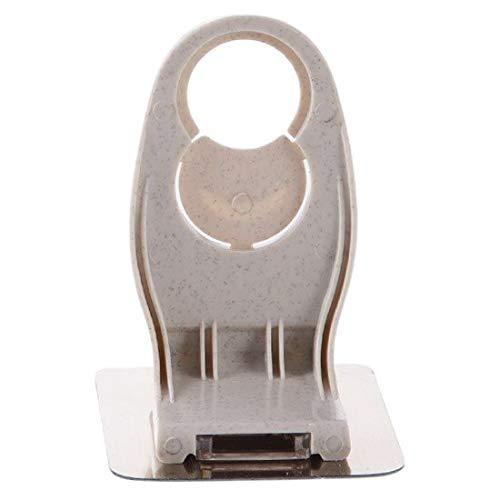 Noel Hooks & Rails - pc Wall Mounted Magic Sticky Hook for Bathroom Shampoo Shower Hand Soap Bottle Hanging Holder - by 1 PCs