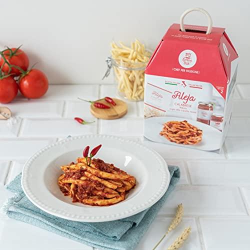 FILEJA CALABRESE My Cooking Box x2 Porzioni - Per una serata tra amici, una cena romantica o come...