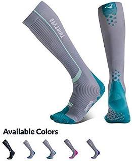 Thirty48 Elite Compression Socks Women & Men Graduated 20-30mmHg for Running, Athletic, Flight Sock - Performance & Recovery
