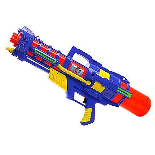 HPYR Pistola de Agua para niños Adult-1480CC de Alta Capacidad y 26-32 pies de Campo de Tiro, Pistola de Agua Water Fight Juguetes de Verano para Piscina Playa Arena-Blue