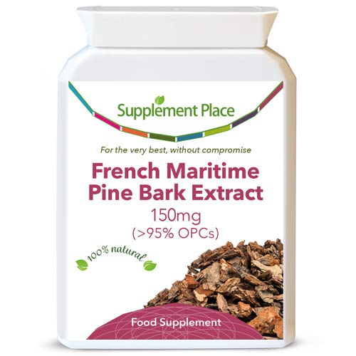 French Maritime Pine Bark Extract 150mg (120 Capsules)
