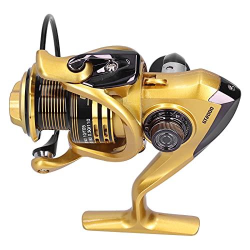 01 13 + 1 Carrete Giratorio con rodamiento de Bolas, Carrete de Pesca Carrete de Pesca Giratorio Equipo de Pesca para Acampar al Aire Libre
