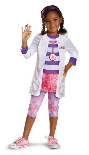 Disguise Disney Doc McStuffins Classic Girls' Costume, 3T-4T