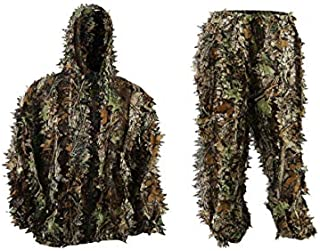 EAROOMZE Mens 3D Lightweight Hooded Camouflage Ghillie...