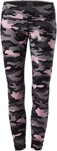 Calvin Klein Damen Printed Fitness Tight with Back Shirring Unterhose, Tdq-Camo Blk Co, X-Groß