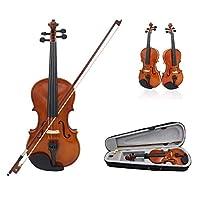 HOTARUYiZi バイオリン 単板 ソリッド バイオリンセット 初心者と上級者適用 (4/4) 【クリスマスギフト/贈り物】