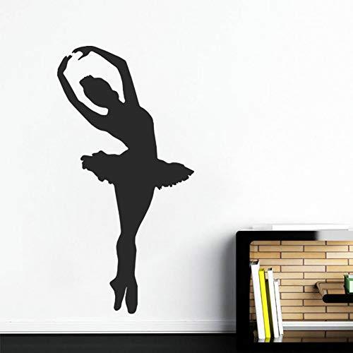 Huaden 5pcs Fototapete Aufkleber Balletttänzer tanzen Schlafzimmer Kinder.