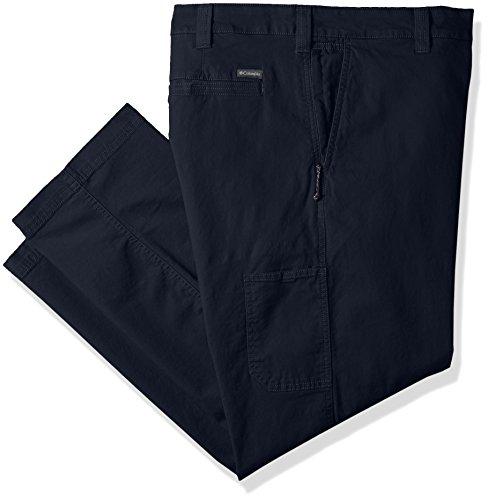 Columbia Flex Roc Pantalón de Senderismo para Hombre, Pantalón Flex Roc, Hombre, Color Azul Marino, tamaño 48W / 30L