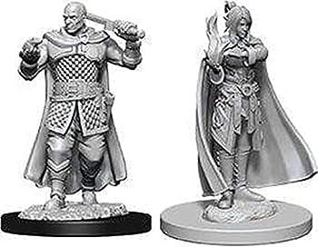 D&D Nolzurs Marvelous Unpainted Miniatures  Wave 8  Human Ranger & Moon Elf Sorcerer