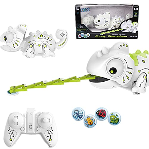 LUBINGT Robot de Dinosaure Télécommandé RC Voiture des Animaux Télécommande Chameleon Toy Toy Robot Toys Dinosaure Changeable Modèle électronique Modèle Intelligent Jouets intelligents Cadeau Enfants