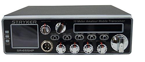 Stryker SR-655 10 Meter Amateur Radio, black