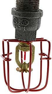 """Fire Sprinkler Standard Head Guard For 1/2"""" Exposed Heads, Available In Multiple Colors (Red)"""