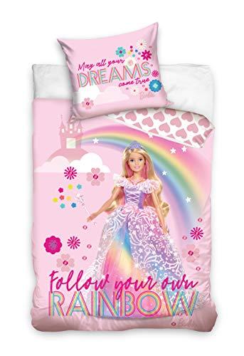 Barbie Bettwäsche - bedlinen - Linge de Lit -Ropa de Cama - biancheria da letto BARB202004-PP