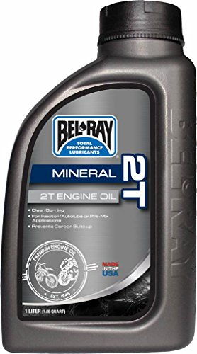 Bouteille huile moteur 1L Bel-Ray 2T Mineral