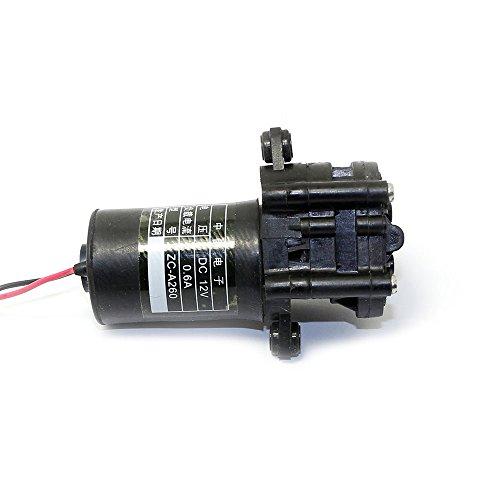 Q-BAIHE 12V Mini-Getriebe Selbstsaugende Pumpe (0-110 Grad Celsius) für Likör/Rum/Saft/Cola ZC-A260 Food-Grade
