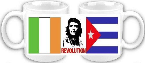 Smithfield Che Guevara Revolución Cubana irlandés Souvenir Taza de café