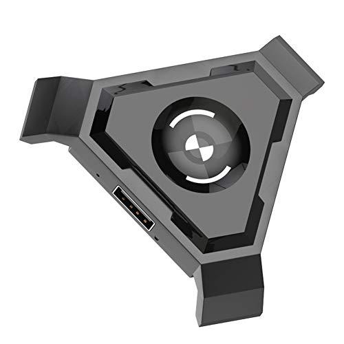 GCDN Teclado Bluetooth, ratón, Controlador de Gamepad móvil, Teclado de Juegos, conversor de ratón para iOS/Android Phone a PC Adaptador, No Cero, P5, Tamaño Libre