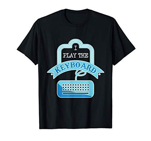 Spielen Keyboard Tastatur Programmierer Gamer PC IT Geschenk T-Shirt