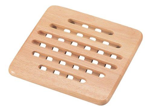 パール金属『木製 鍋敷き(H-3659)』