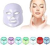 ZRYstore 7 couleur LED masque photon lumière peau rajeunissement blanchissant soin...