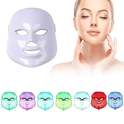ZRYstore 7 couleur LED masque photon...