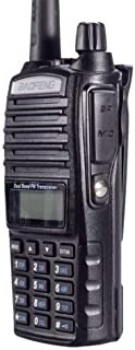 BaoFeng UV-82C Dual-Band 136-174/400-520 MHz FM Ham Two-Way Radio, Transceiver, HT with Battery, Earpiece, Antenna, Charger