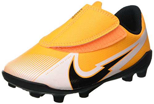 Nike Jr. Vapor 13 Club MG PS (V), Zapatillas de fútbol Americano, Laser Orange Black White Laser Orange, 30.5 EU