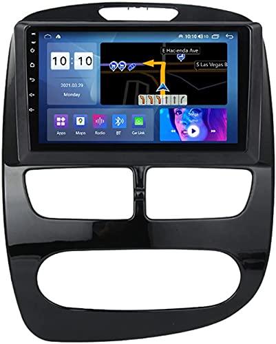 YIJIAREN Navigazione GPS Autoradio per Ren-Ault Clio 2013-2018, Schermo tattile 2.5D Android 10.0 Autoradio Stereo Supporta Il Controllo del Volante BT FM Mirror-Link 4G WiFi