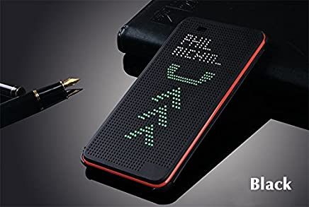 RubyShopUU for HTC 820 G Slim Dot Bag Smart Auto Sleep View Shockproof Silicone Original Leather