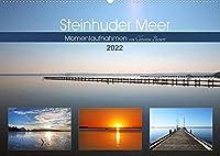 Steinhuder Meer, Momentaufnahmen von Christine Bienert (Wandkalender 2022 DIN A2 quer): Das Steinhuder Meer laedt mit stimmungsvollen Fotos zum Wohlfuehlen und Traeumen ein (Monatskalender, 14 Seiten )