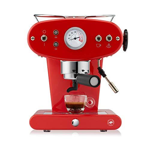 illy Kaffee, E.S.E. Pads Kaffeemaschine X1 Trio - Rot