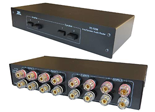 TC-7220 2-Way Amplifier Speaker Selector Switch Switcher Comparator...