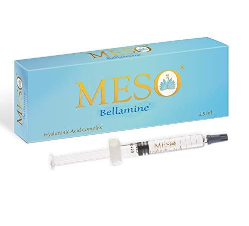 MESO Bellamine HA Komplex + 18 Aminosäuren + Antioxidantien | Hyaluronsäure für Microneedling | 2,5 ml