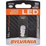 Sylvania 194LED.BP 168/194/2825 LED Premium White Miniature Bulb, (Pack of 1)