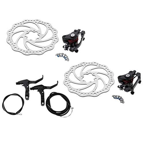 B Blesiya Juego de Freno de Disco de Bicicletas de aleación de Aluminio, Repuesto de Calibrador Freno para Ciclismo