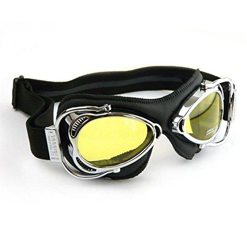 Nannini Streetfighter moto occhiali–cromato