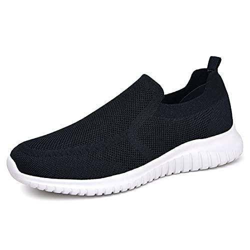 konhill - Zapatillas deportivas deportivas para hombre, Azul (A/Azul marino), 44 EU