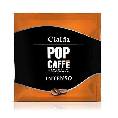 150 Cialde Filtro Carta Ese 44mm POP CAFFE' Miscela 1 INTENSO