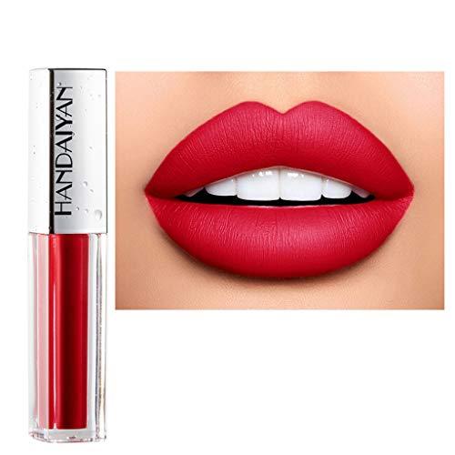 Style_Dress Rouge A Levre Pas Cher, Crayons A Levres, Rouge A Levre Magique, Trousse Maquillage, Brillant À LèVres Longue DuréE Waterproof Liquid Lip Gloss
