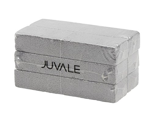 Juvale 6Pack Pumice Stones for Cleaning  Toilet Bowl Cleaner Hard Water Ring Remover Scouring Sticks for Bath Shower Pool Kitchen Household  Gray 59 x 14 x 09