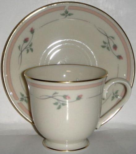 Lenox Rose Manor - Pink Flat Set Saucer Max 82% OFF Cup And Popular standard