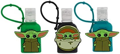 Disney Hand Sanitizer for Kids 3 Pack Ideal for School and Travel 1 oz Baby Yoda Hand Sanitizer product image