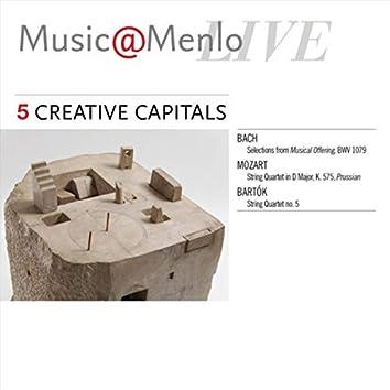 Music@Menlo Live: Creative Capitals, Vol. 5