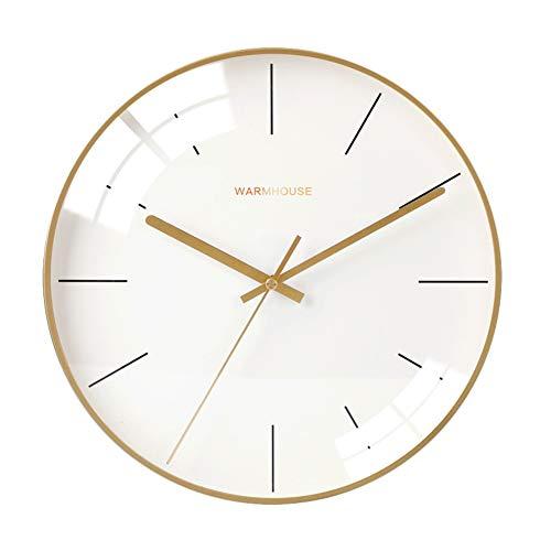 Insun 12inch Round Silent Non Ticking Quartz Wall Clocks...