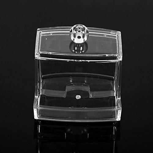 Boîtes à écouvillons, boîtes à Coton-Tige, Rangement pour écouvillons, Cure-Dents Q-Tip faciles d'accès pour Boules de Coton Accessoires de Salle de Bain Tampons de Maquillage